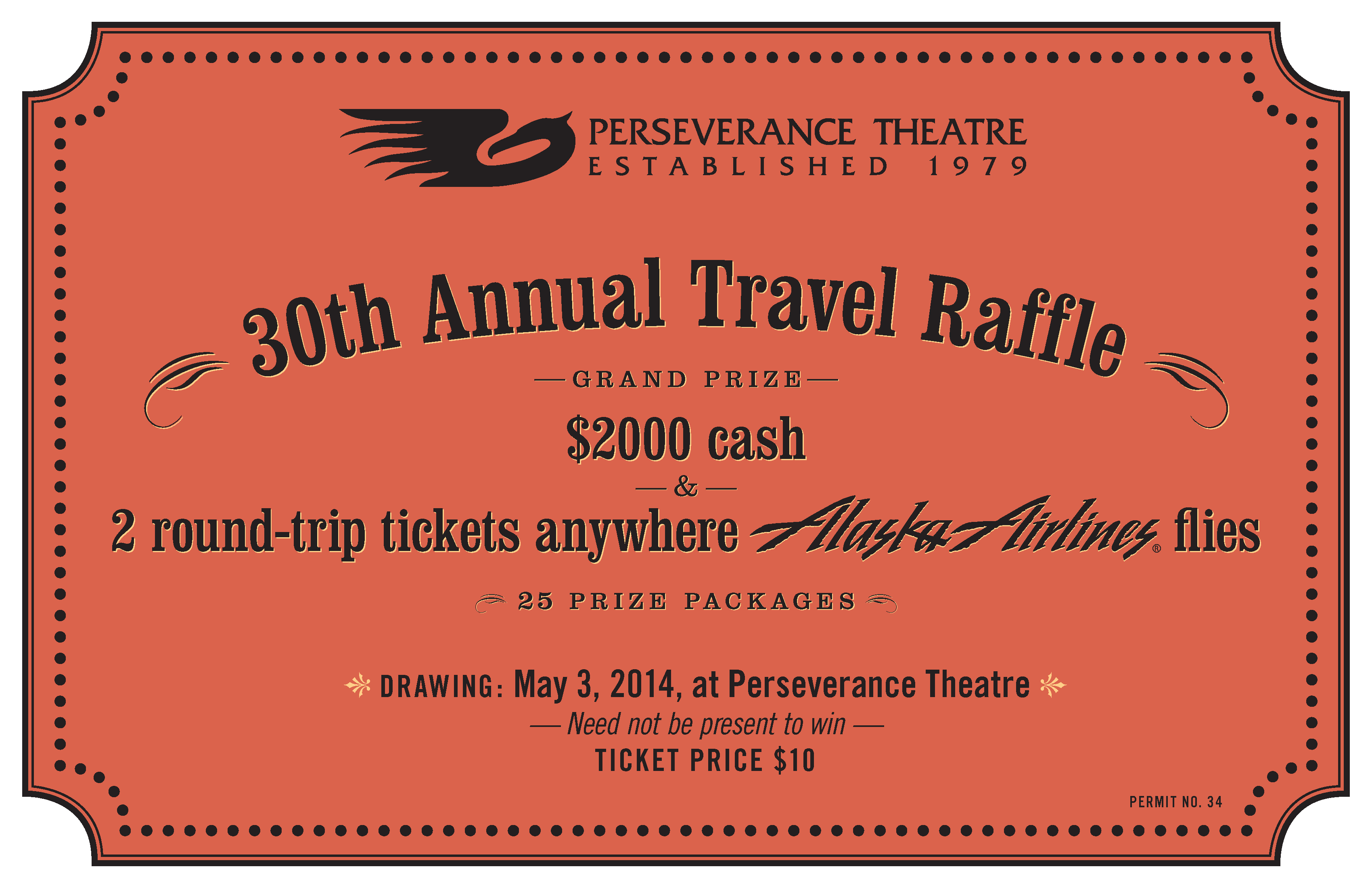 prize winners for the th annual travel raffle perseverance theatre