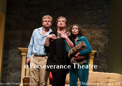 Ben Brown as Vanya Katie Jensen as Masha and Patricia Hull as Sonia 3879